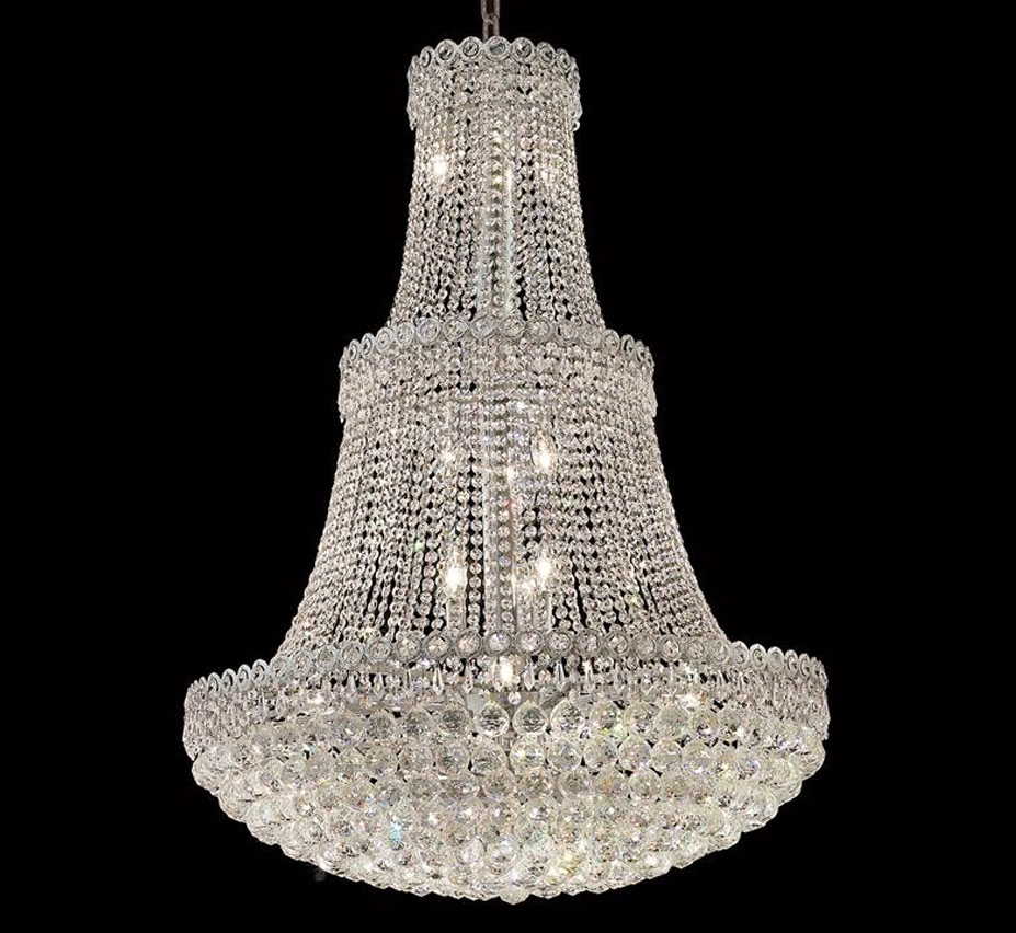 Extra large crystal chandeliers century collection 17 light extra large crystal chandelier aloadofball Image collections