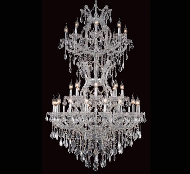 Pisa Livorno Collection 34 Light Extra Large Crystal