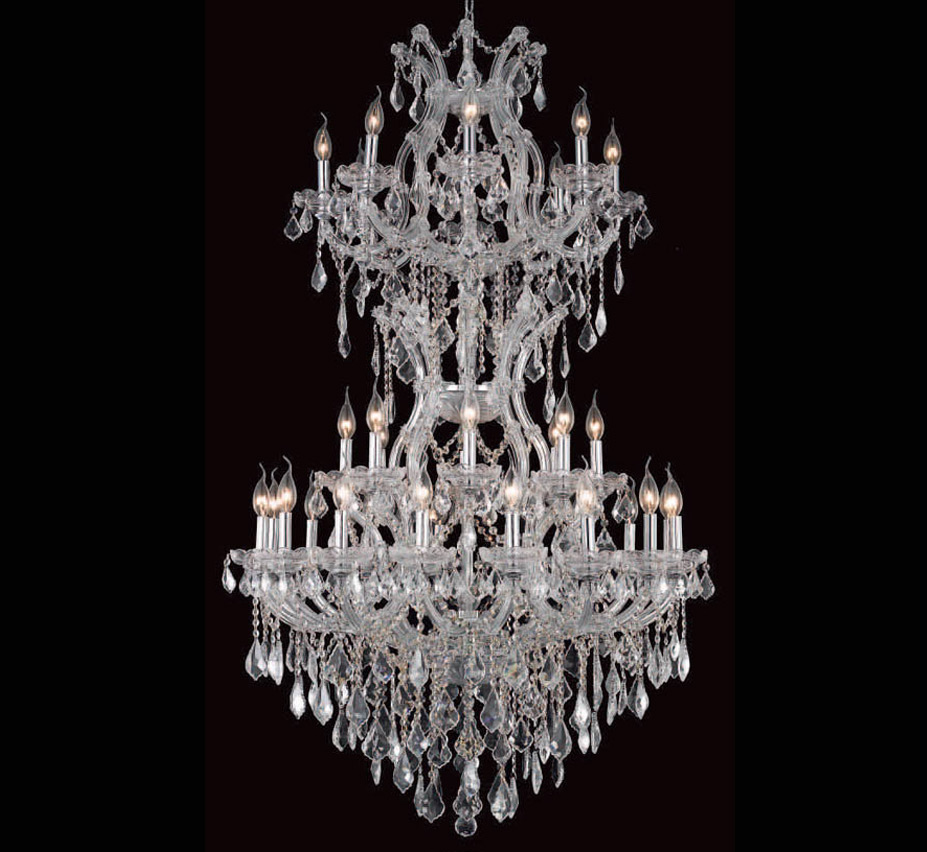 Pisa Livorno Collection 34 Light Extra Large Crystal Chandelier