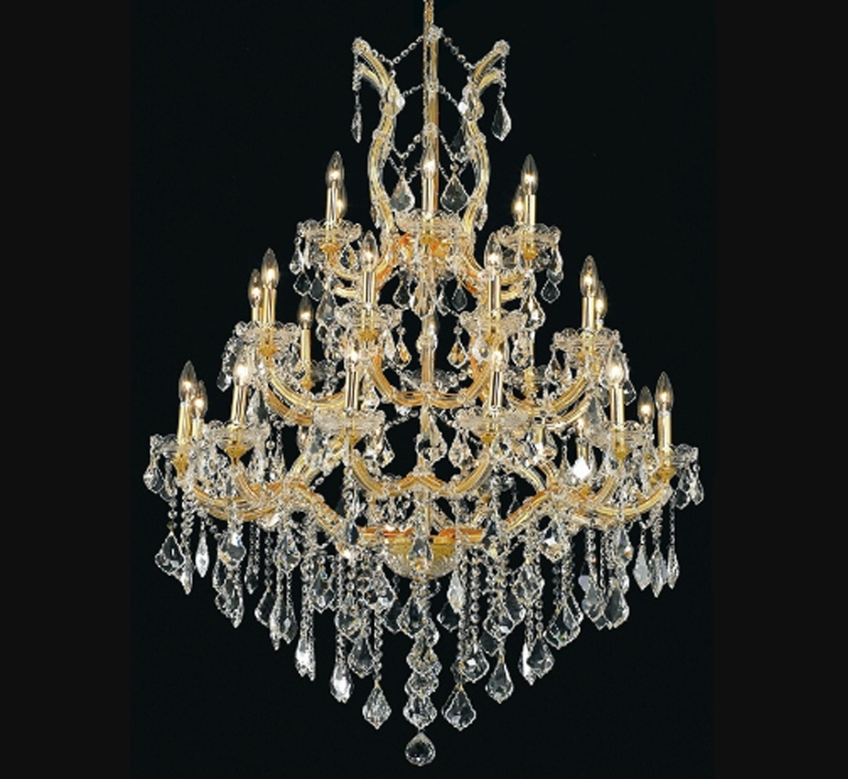 Maria Theresa Collection 28 Light Extra Large Crystal Chandelier Grand Light