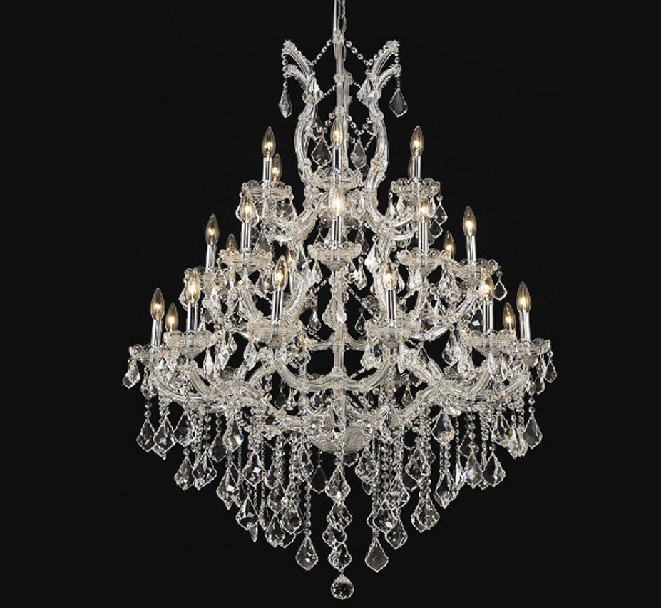 Pisa Livorno Collection 28 Light Extra Large Crystal Chandelier