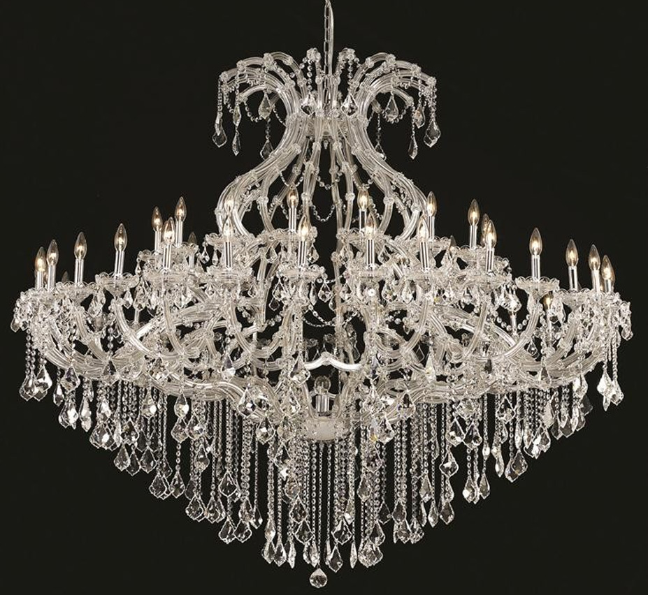 Extra Large Crystal Chandeliers 43 Above Grand Light Part 2