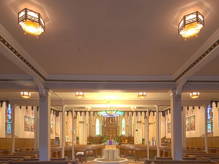 St peters church led lighting retrofits grand light aloadofball Images
