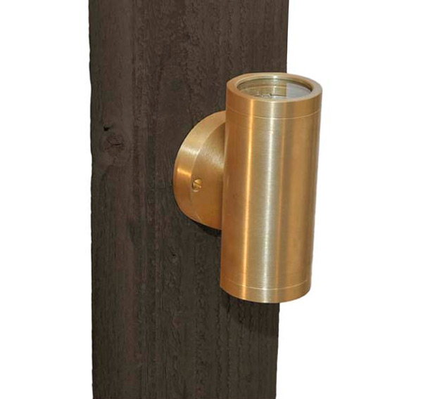 Brass Up And Down Wall Lights Outdoor : Up/Down Light Wall Mount Solid Brass 12v Specialty Landscape Light Grand Light