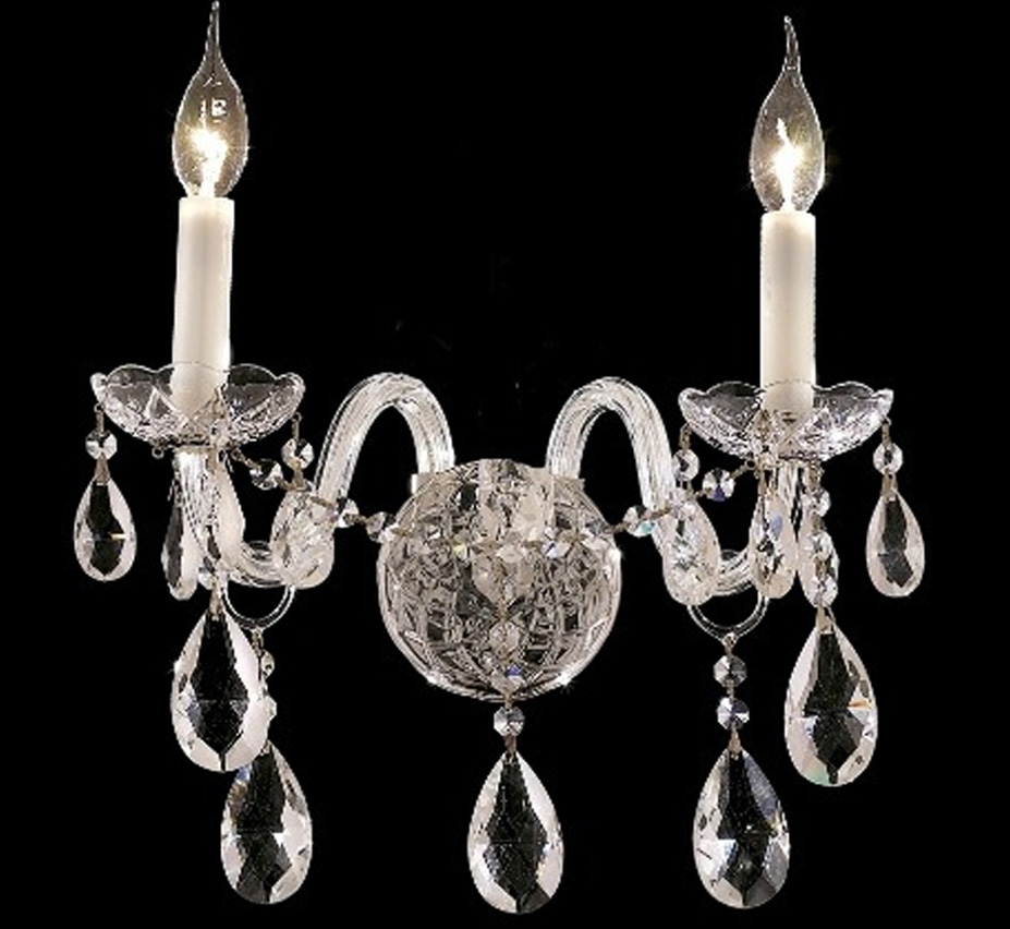 Crystal Wall Sconce Facebook Share