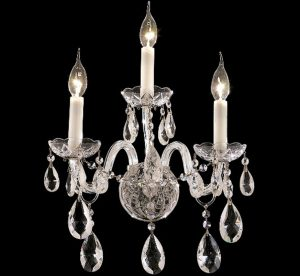 Alexandria-Collection-Medium-Crystal-Wall-Sconce-3-Bulbs-Chrome