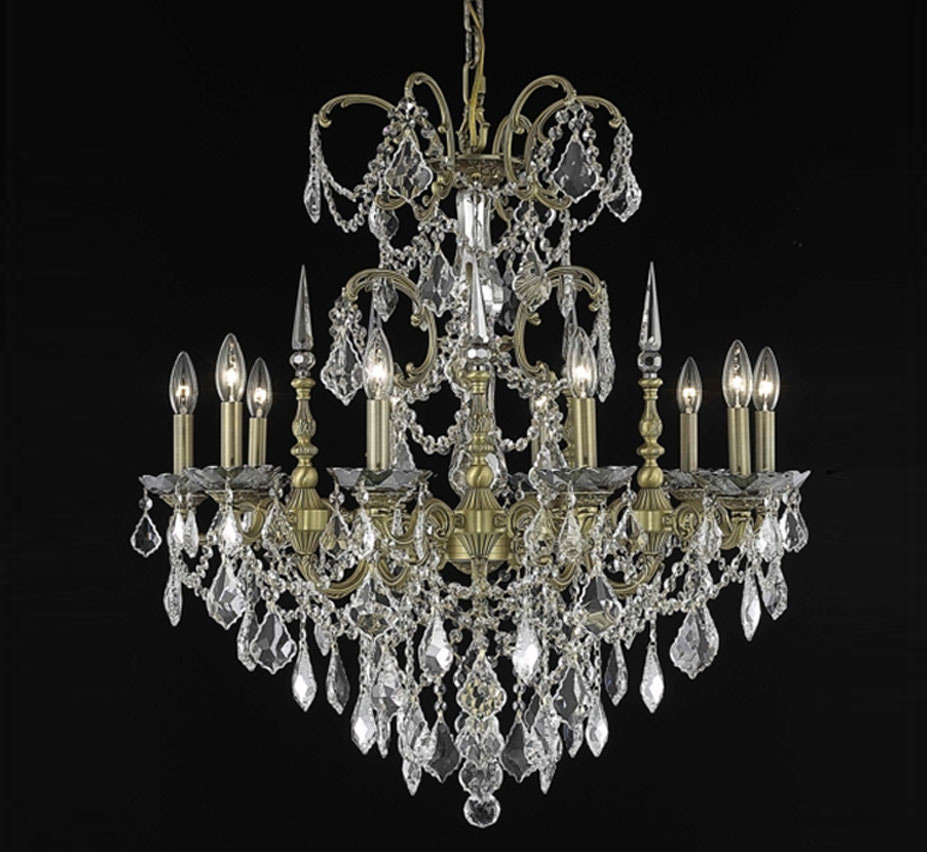 large picture round lighting foyer crystal chandelier stores polished lights brizzo of chrome tier empire