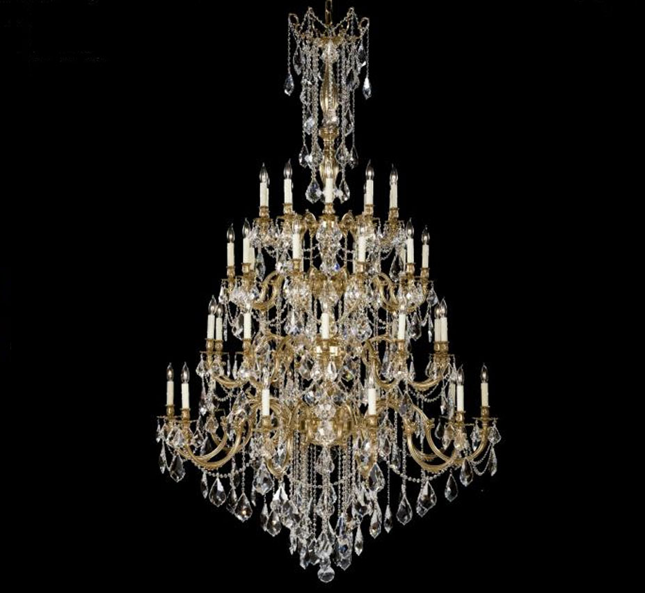Bellagio Collection 40 Light Extra Large Br Crystal Chandelier
