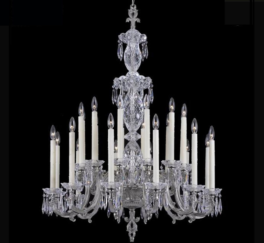 Blairsden Collection 12 12 Light Extra Large Brass Crystal Chandelier