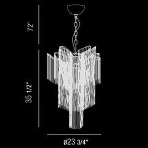 Cadena-12-Light-Extra-Large-Contemporary-Pendant-176682-line-drawing
