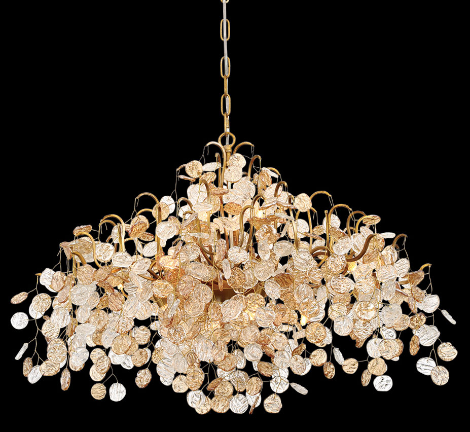 Campobasso 8 light largetransitional chandelier grand light facebook share aloadofball Gallery