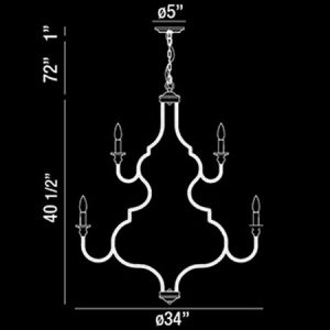 Corda-12-Light-Large-Contemporary-Chandelier-188280-line-drawing