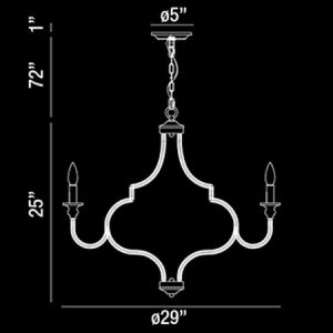 Corda-8-Light-Large-Contemporary-Chandelier-188279-line-drawing