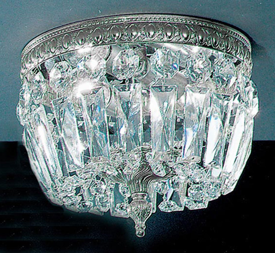 Crystal baskets collection 8 dia small brass crystal flush mount crystal flush mount ceiling light facebook share aloadofball Choice Image