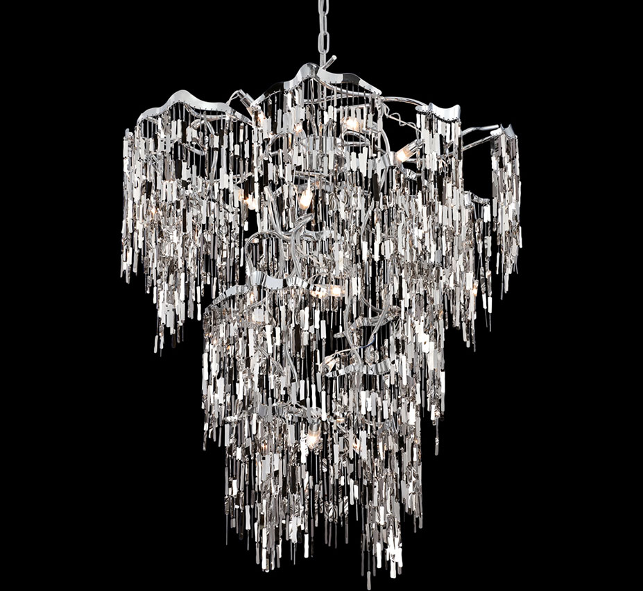 large modern chandelier lighting large contemporary