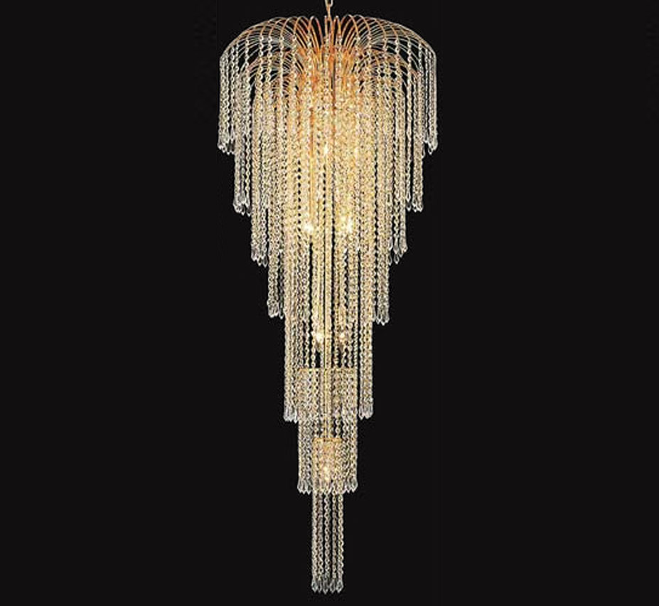 Falls collection 11 light extra large crystal chandelier grand light extra large crystal chandelier facebook share aloadofball Image collections