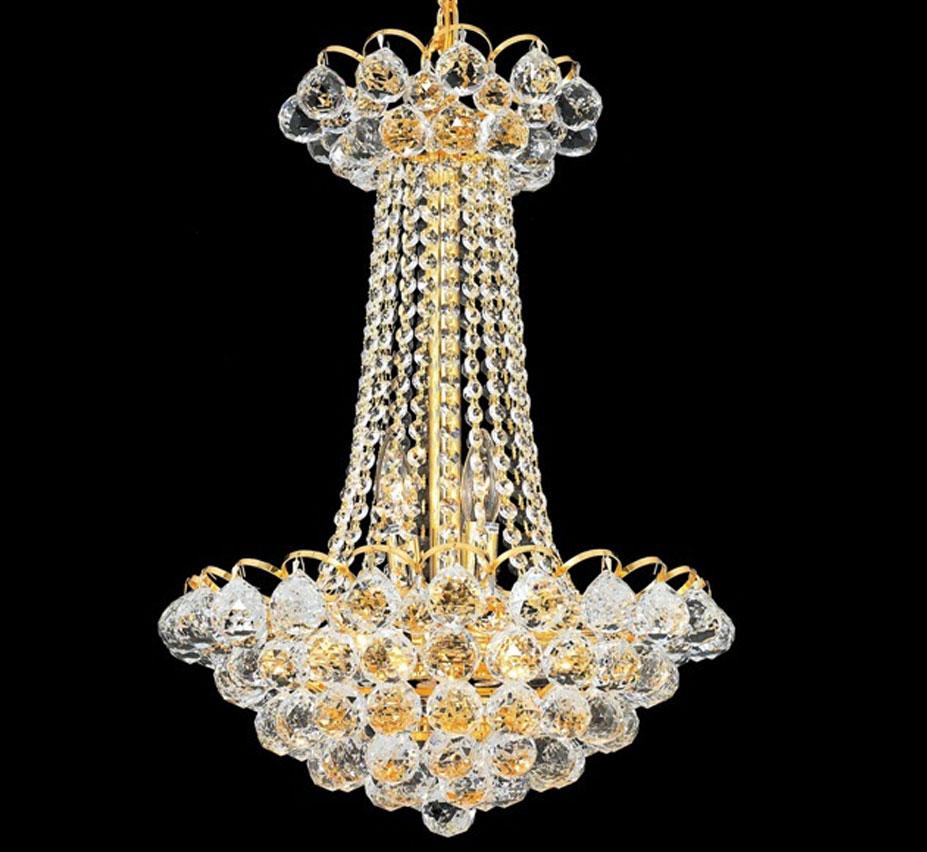 godiva collection 9 light medium crystal chandelier
