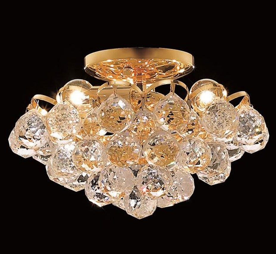 in gold by chandelier small campobasso eurofase