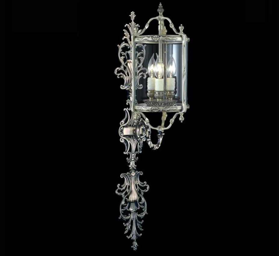 Lantern Collection Extra Large Traditional Wall Sconce