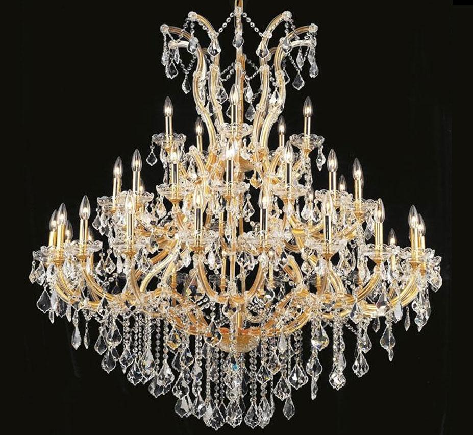 Pisa Livorno 41 Light Extra Large Crystal Chandelier