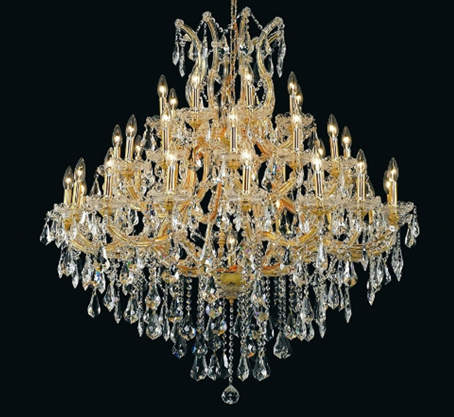 Pisa Livorno Collection 37 Light Extra Large Crystal