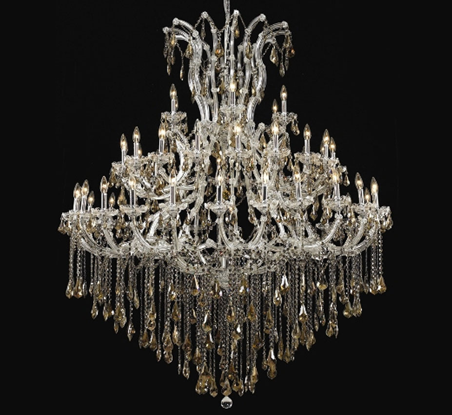 Pisa Livorno Collection 49 Light Extra Large Crystal Chandelier
