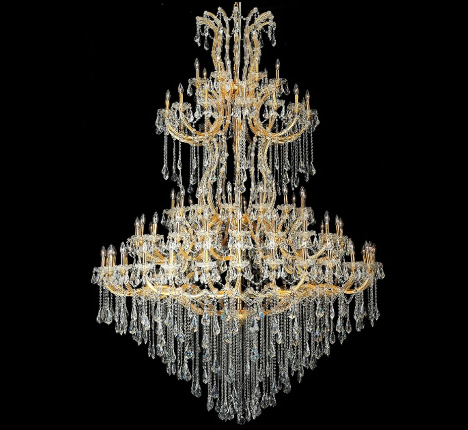 Maria theresa collection 85 light extra large crystal chandelier grand light - Lighting and chandeliers ...