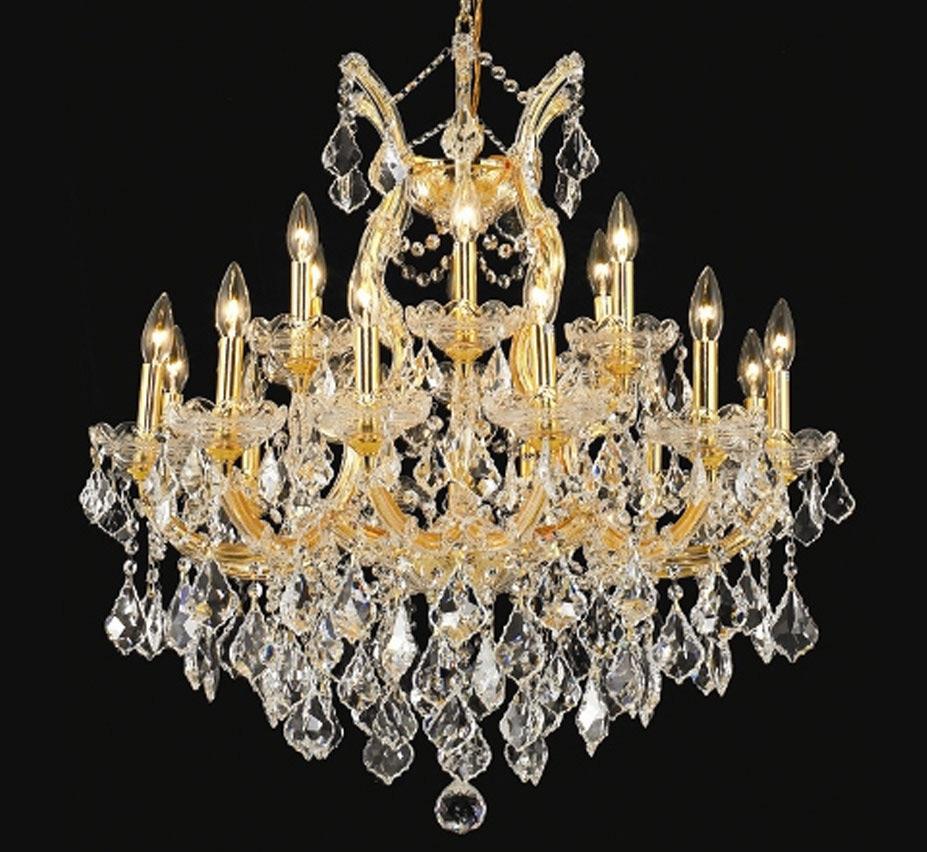 Pisa Livorno Collection 19 Light Large Crystal