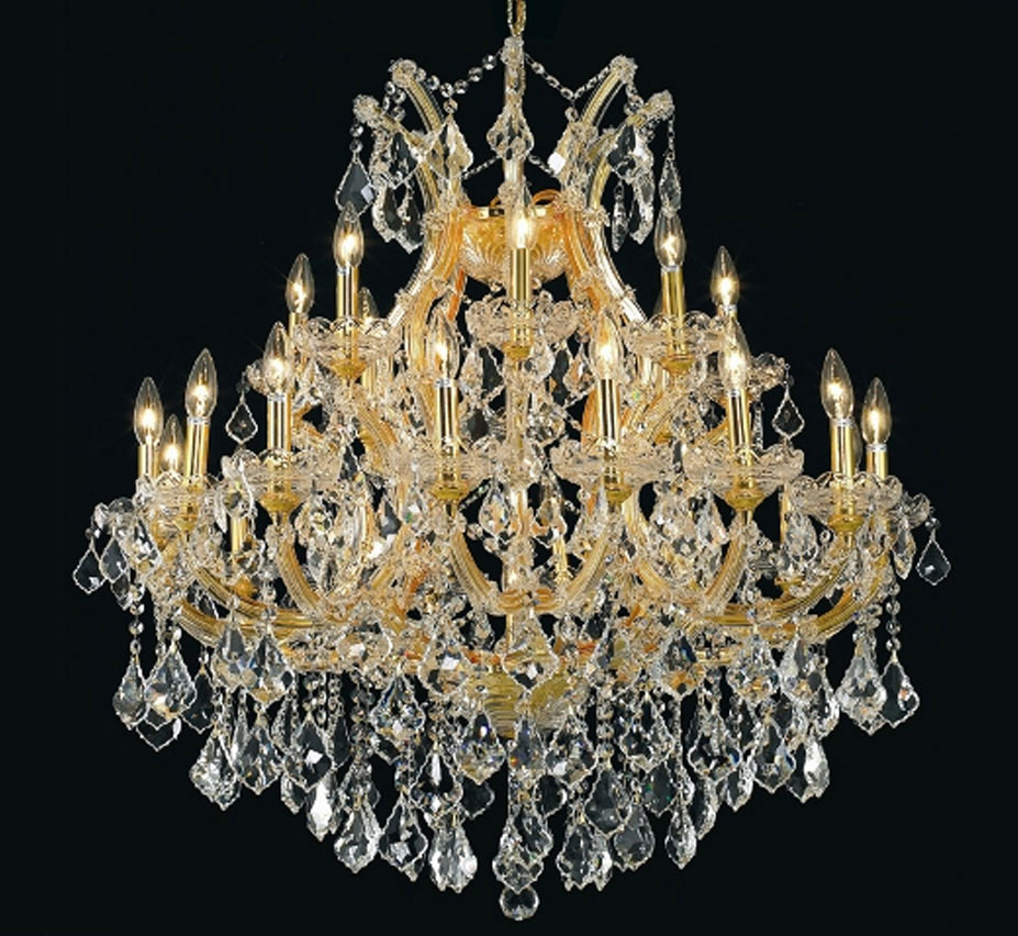 Pisa Livorno Collection 24 Light Large Crystal