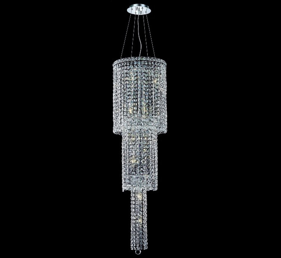 Maxim Collection 12 Light Extra Large Crystal Chandelier