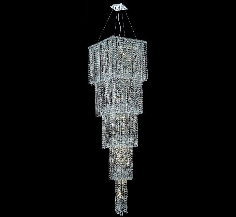 Maxim Collection 22 Light Extra Large Crystal Chandelier