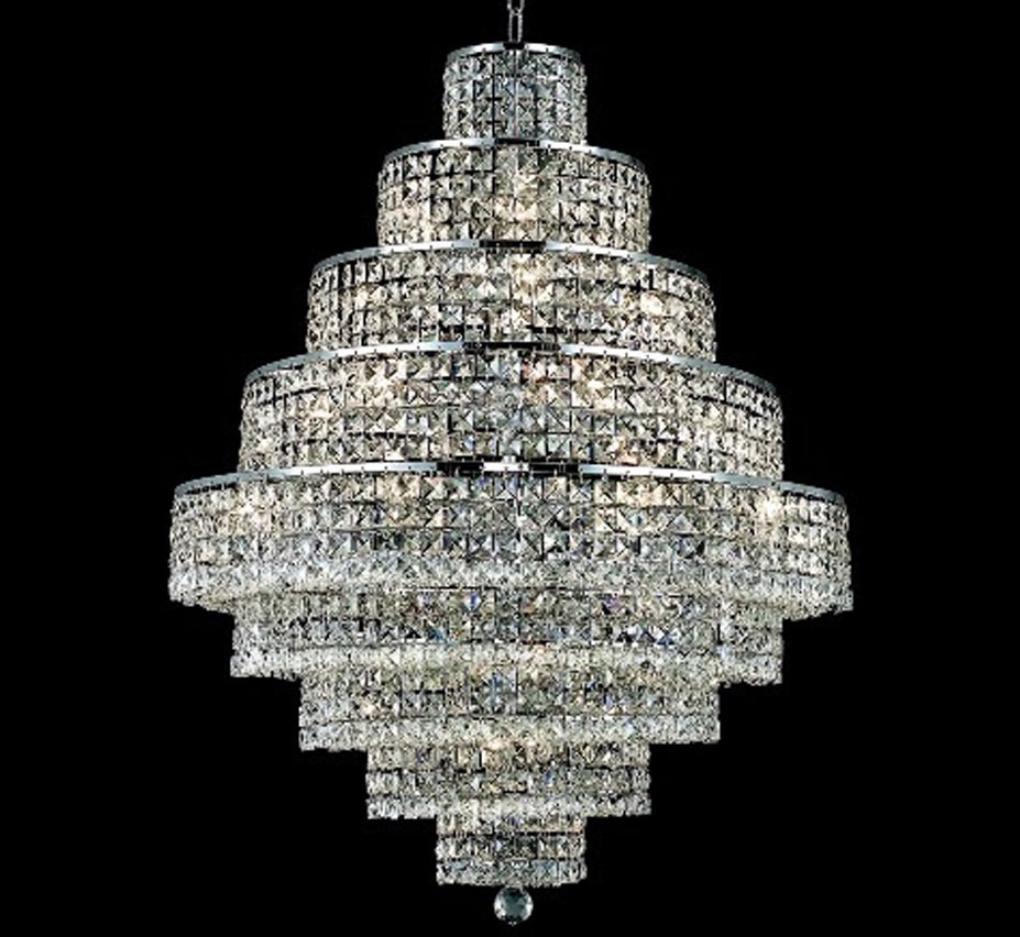 Maxim Collection 20 Light Large Crystal Chandelier Grand