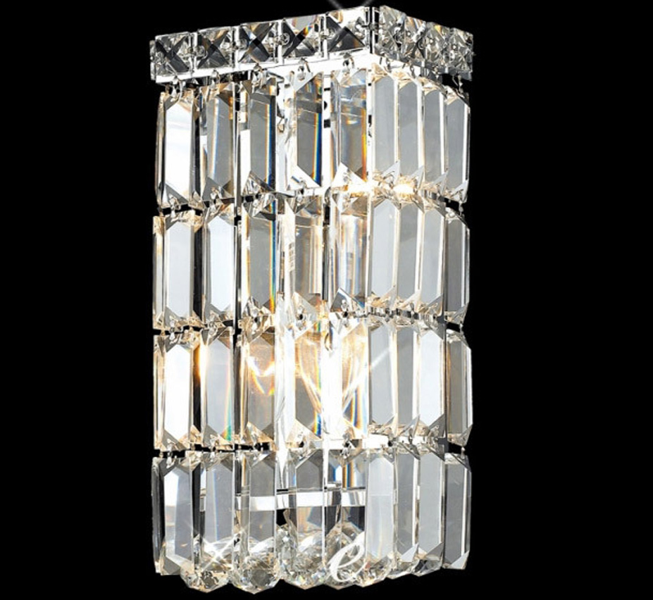 Maxim Collection 6? W Small Crystal Wall Sconce Grand Light