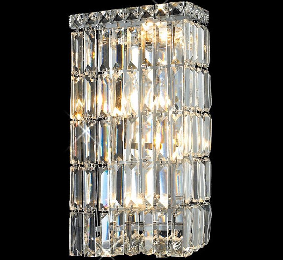 Small Crystal Wall Sconces : Maxim Collection 8? W Small Crystal Wall Sconce Grand Light