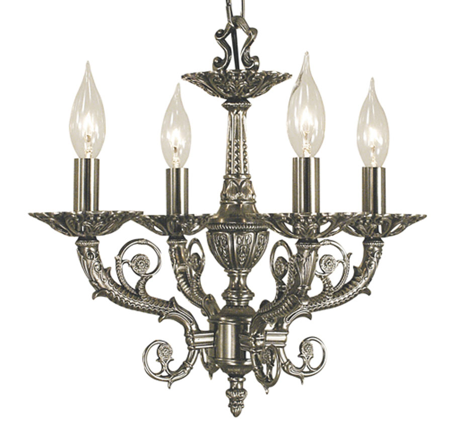 High quality traditional chandeliers napoleonic v collection 4 light small traditional chandelier aloadofball Choice Image