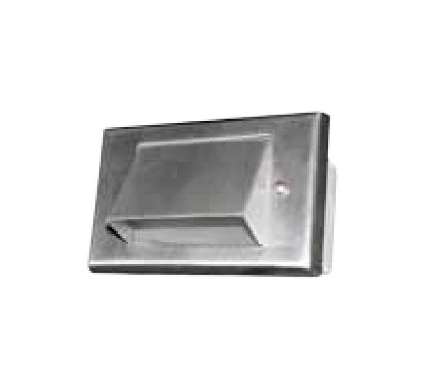 1 Louver Step Light LED Stainless Steel 12v Step & Brick Landscape Light