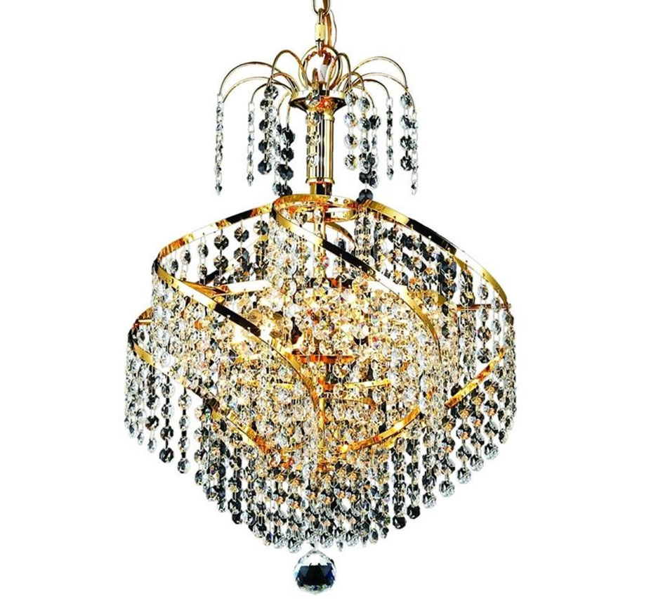 Small crystal chandelier facebook share