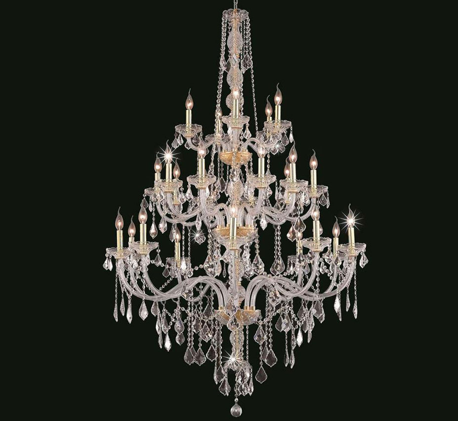 Verona Collection 25 Light Extra Large Crystal Chandelier