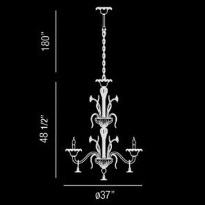 Veronica-8-Light-Extra-Large-Contemporary-Chandelier-188263-line-drawing