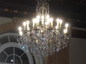 "Extra Large Brass & Crystal Chandeliers - 43"" & Above"