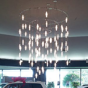 "Extra Large Contemporary & Modern Chandeliers - 43"" & Above"