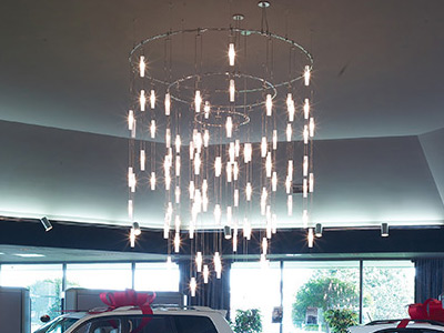 """Extra Large Contemporary & Modern Chandeliers - 43"""" & Above"""