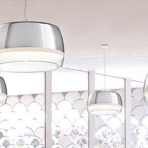 "Large Contemporary & Modern Pendant Lighting - 21"" to 30"" Dia"