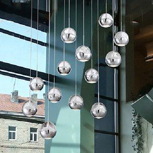 "Small Contemporary & Modern Pendant Lighting - 3"" to 10"" Dia"