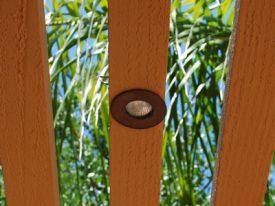 Copper Low Voltage In-Ground Lighting