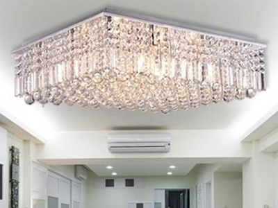 "Extra Large Crystal Ceiling Lighting - 23"" Dia & Above"