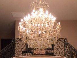 "Extra Large Crystal Chandeliers - 43"" & Above"