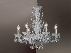 "Medium Crystal Chandeliers - 17"" to 26"""