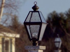 Traditional Outdoor Post Lighting
