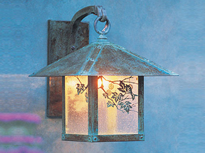 Arts & Crafts Outdoor Wall Lighting